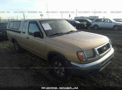 1998 NISSAN FRONTIER KING CAB XE/KING CAB SE