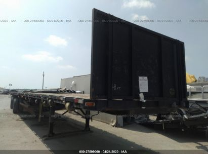 1992 GREAT DANE TRAILERS FLATBED