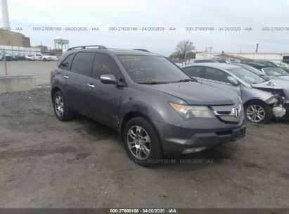 2007 ACURA MDX TECHNOLOGY