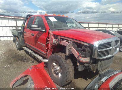2006 DODGE RAM 3500 ST/SLT