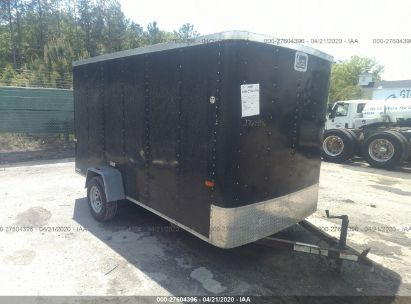 2008 CARGO CRAFT ENCLOSED TRAILER