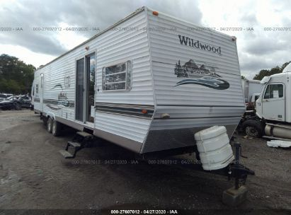 2004 FOREST RIVER WILDWOOD 38FBRB