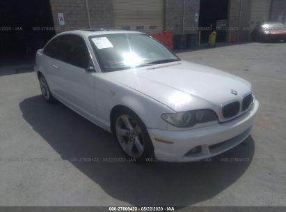 2004 BMW 325 CI SULEV