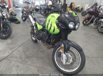 2001 TRIUMPH MOTORCYCLE TIGER