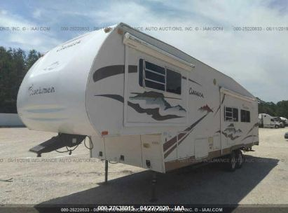 2005 COACHMEN CHAPARRAL 282DS