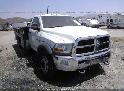2012 DODGE RAM 4500 ST/SLT