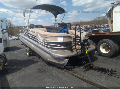 2016 TRACKER MARINE PARTY BARGE 22 DLX(*) SUN