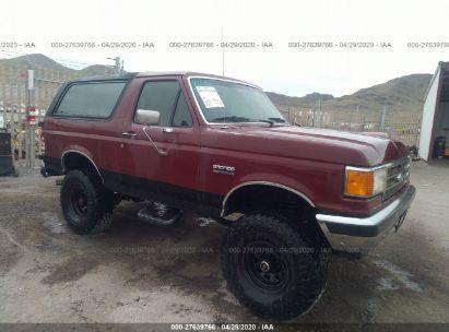 1989 FORD BRONCO U100