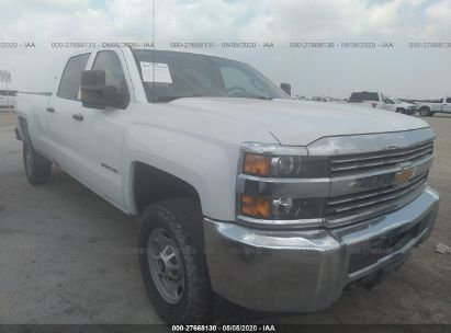 2017 CHEVROLET SILVERADO K2500 HEAVY DUTY