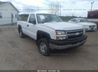 2006 CHEVROLET SILVERADO C2500 HEAVY DUTY
