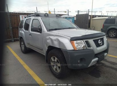 2011 NISSAN XTERRA OFF ROAD/S/SE