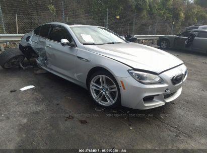 2013 BMW 6 SERIES I
