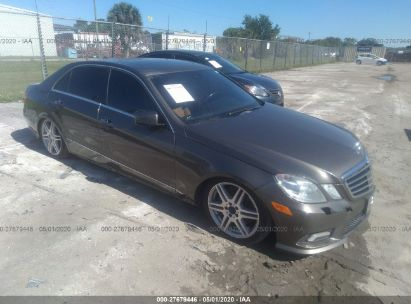 2010 MERCEDES-BENZ E 550 4MATIC