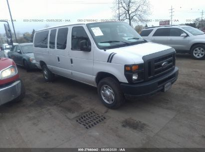 2010 FORD ECONOLINE E350 SUPER DUTY WAGON