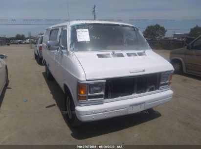 1988 DODGE RAM VAN B250