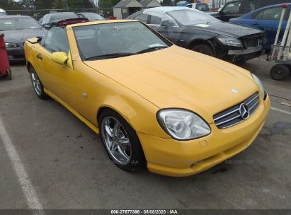1999 MERCEDES-BENZ SLK 230 KOMPRESSOR