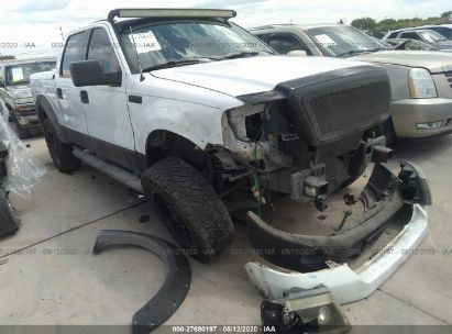 2006 FORD F150 SUPERCREW