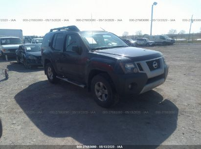 2012 NISSAN XTERRA OFF ROAD/S/SE