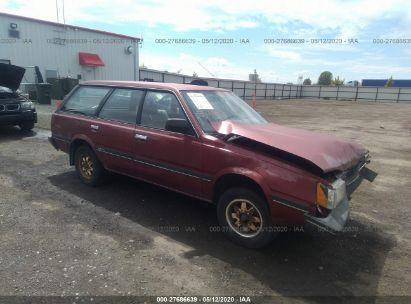 1986 SUBARU GL 4WD