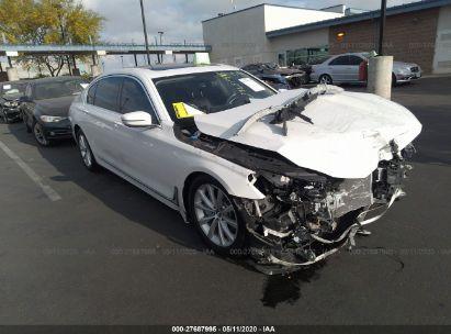 2016 BMW 7 SERIES I