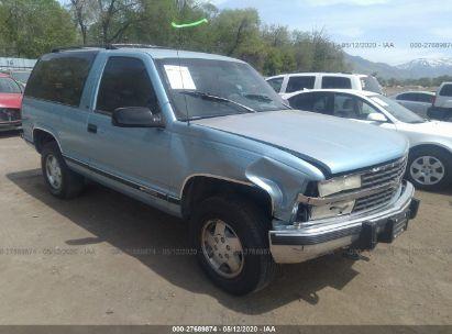 1992 CHEVROLET BLAZER K1500