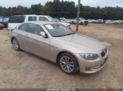 2012 BMW 3 SERIES I SULEV
