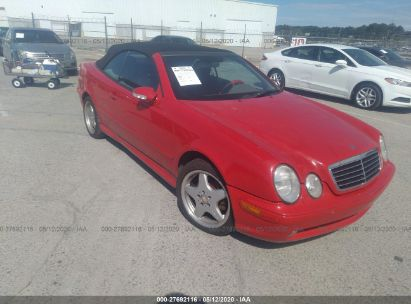 2001 MERCEDES-BENZ CLK 430