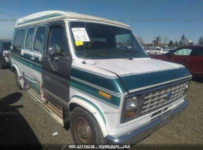 1991 FORD ECONOLINE E150 VAN