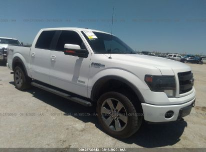 2013 FORD F150 SUPERCREW
