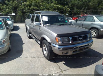 2000 NISSAN FRONTIER CREW CAB XE/CREW CAB SE