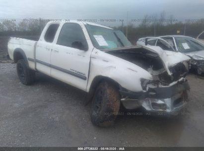 2001 TOYOTA TUNDRA ACCESS CAB/ACCESS CAB SR5