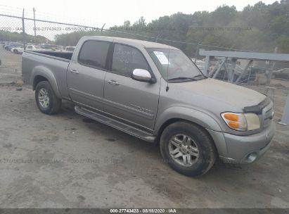 2004 TOYOTA TUNDRA DOUBLE CAB SR5