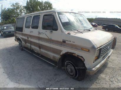 1988 FORD ECONOLINE E150 VAN