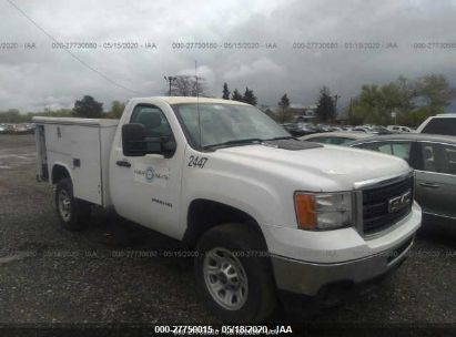 2011 GMC SIERRA C2500 HEAVY DUTY