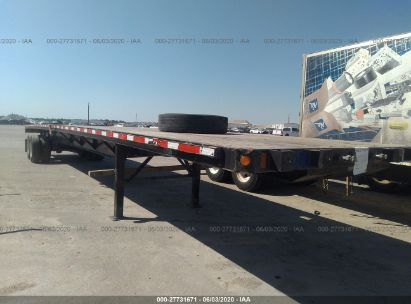 2014 FONTAINE TRAILER CO FLATBED