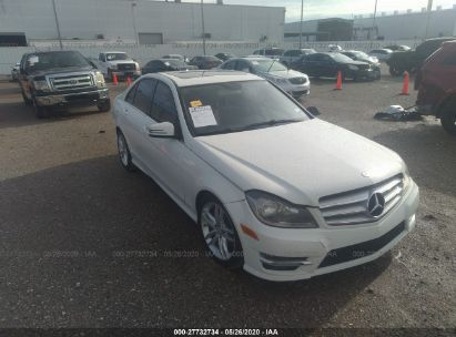 2012 MERCEDES-BENZ C 300 4MATIC