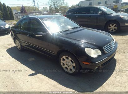 2005 MERCEDES-BENZ C 240 4MATIC