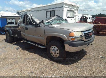 2001 GMC SIERRA 3500 SLE