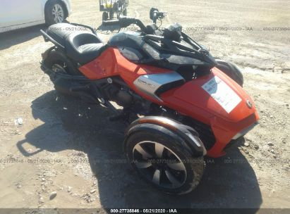 2015 CAN-AM SPYDER ROADSTER F3/F3-S
