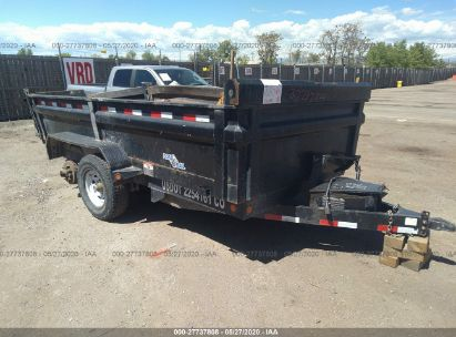 2012 LOAD TRAIL WORK TRAILER