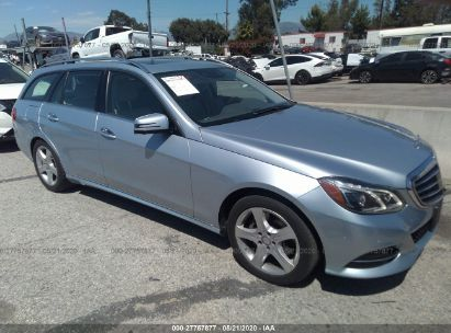 2014 MERCEDES-BENZ E 350 4MATIC WAGON
