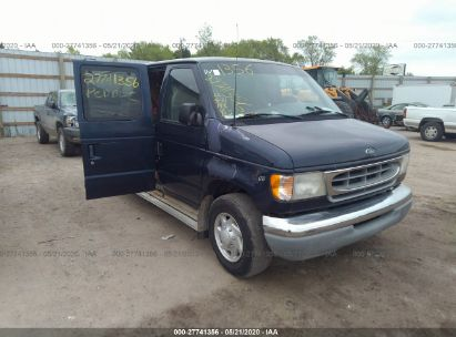 2001 FORD ECONOLINE E350 SUPER DUTY WAGON