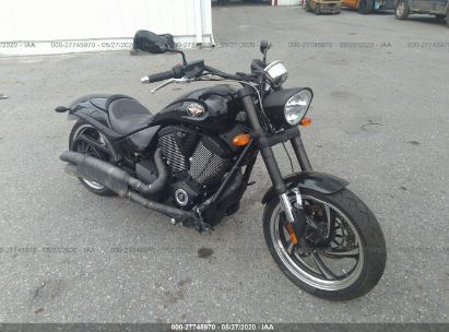 2012 VICTORY MOTORCYCLES HAMMER 8-BALL