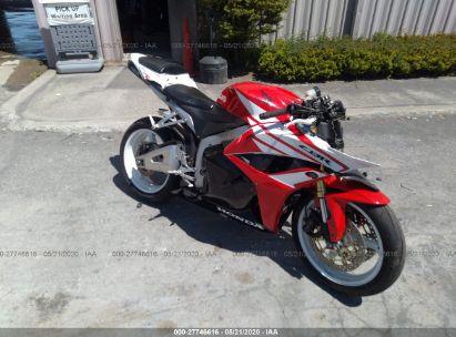 2012 HONDA CBR600 RR