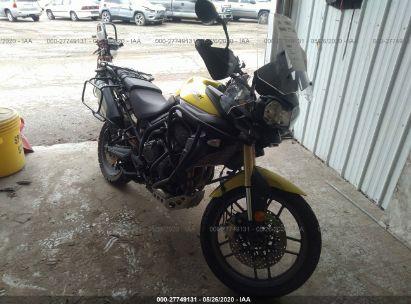 2012 TRIUMPH MOTORCYCLE TIGER