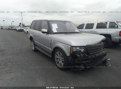 2012 LAND ROVER RANGE ROVER HSE LUXURY
