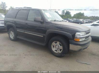 2004 CHEVROLET TAHOE K1500