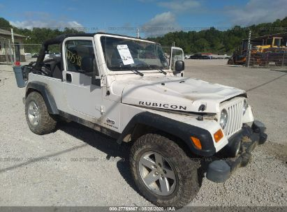 2006 JEEP WRANGLER / TJ UNLIMITED RUBICON
