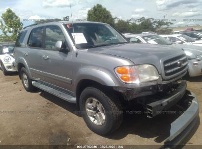 2002 TOYOTA SEQUOIA LIMITED