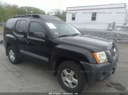 2005 NISSAN XTERRA OFF ROAD/S/SE